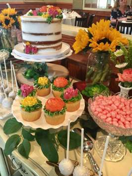 Flower Theme Party Food 3