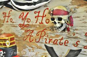 Pirate Theme Birthday Party Decoration 10
