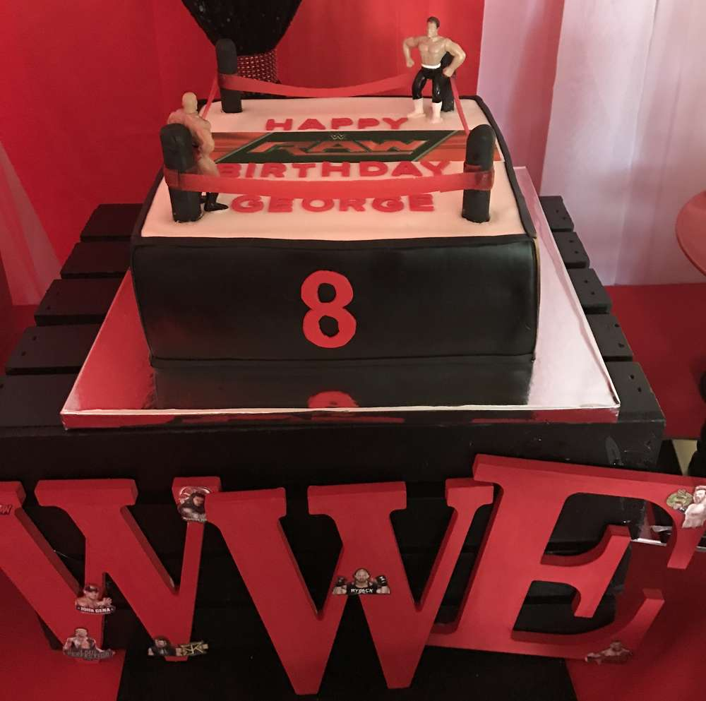 8 Year Old S Wwe Theme Birthday Party Venuemonk Blog