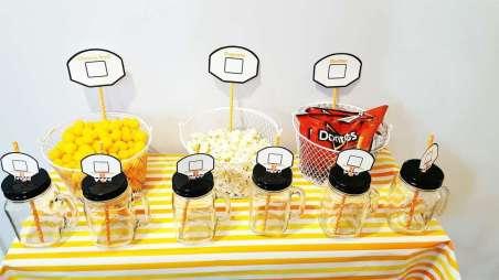 Basketball Theme Birthday Party Food 6