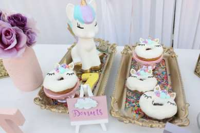 Unicorn Theme Birthday Party Food 8