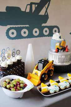 Construction Theme Birthday Party Food