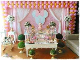 Gold Princess Theme Birthday Party Decoration