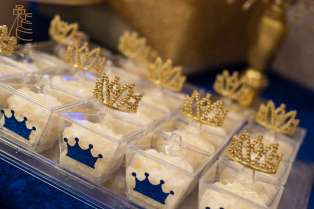 Royal Prince Theme Baby Shower Food 9