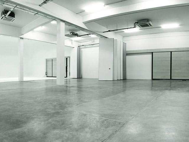 industrial look of multifunctional event space