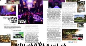 Zebra Square advertorial on Elle Magazine Malaysia by Venuerific Malaysia