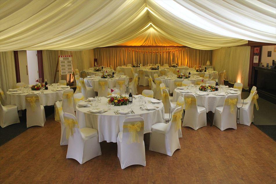 wedding chair cover hire chesterfield hanging hammock for bedroom club derbyshire established since 1926 a s party events venue dressing covers marquee drapes