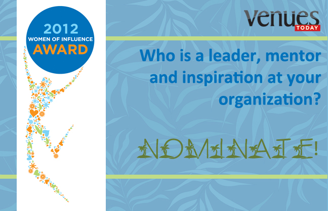 Nominate for Women of Influence by May 7!