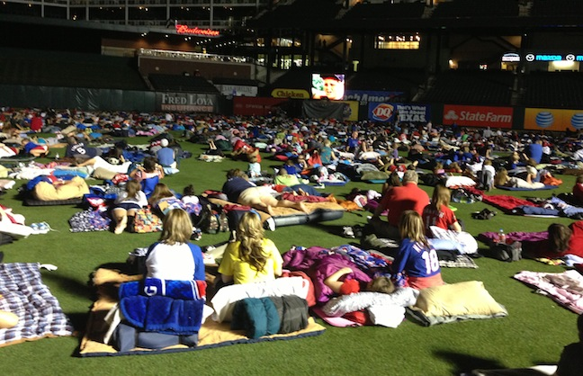 Movie Night at the Ballpark