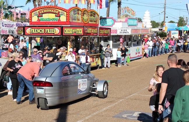 Rain Dampens Louisiana Fair