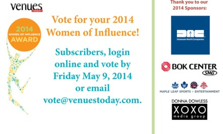 Subscribers, Vote for the 2014 Women of Influence Awards!