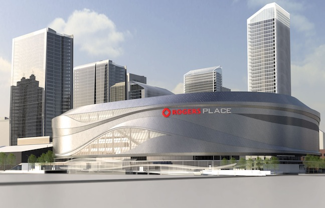 Construction Begins on Rogers Place