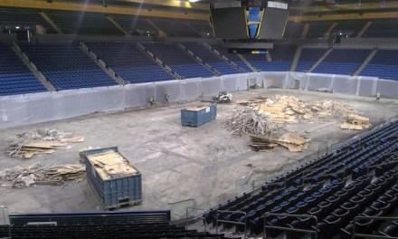 Repairs Underway at Pauley Pavilion