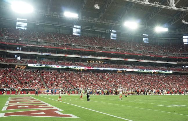 NFL Venue Upgrades to LED