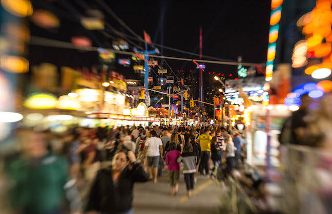 Canadian National Exhibition Sets Records