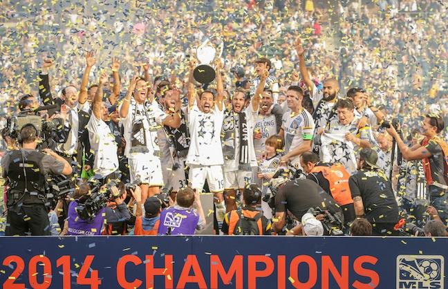MLS Hero Enjoys Championship Send Off