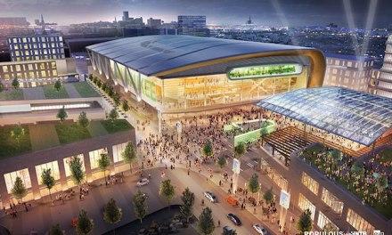 Bucks Unveil Renderings for $1-Billion Arena District