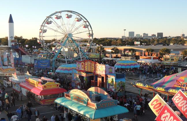 South Carolina State Fair Serves as Flood Reprieve