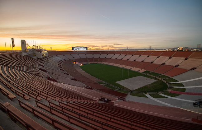 L.A. Memorial Coliseum Ready for Rams