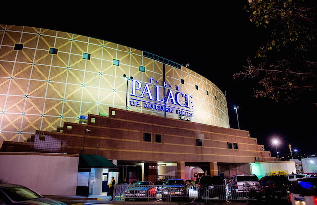 Pistons Play Last Game at The Palace