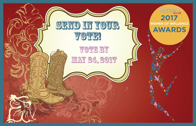 Vote for the 2017 Women of Influence by May 24, 2017