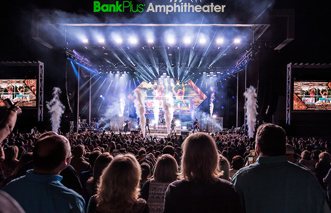 Live Nation Signs Amphitheater