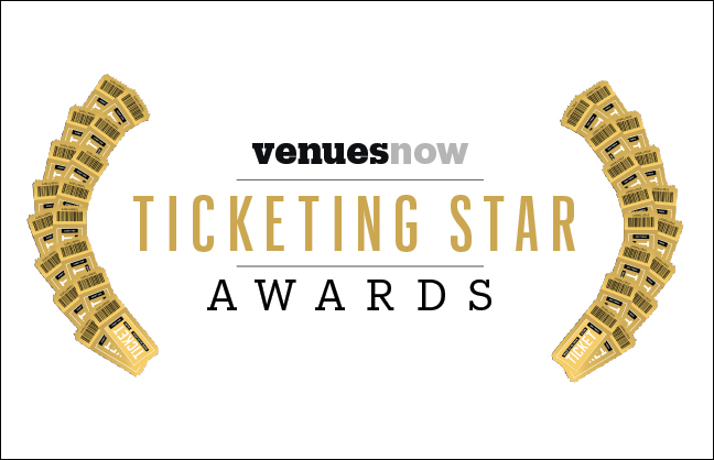 Nominate for the 2020 VenuesNow Ticketing Star Awards by Oct. 25, 2019