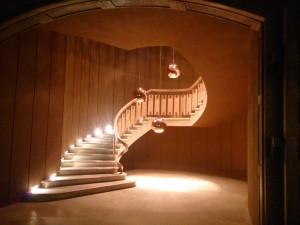 La somptueuse cage d'escalier