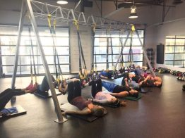 TRX Cardio Kickboxing- Bridge