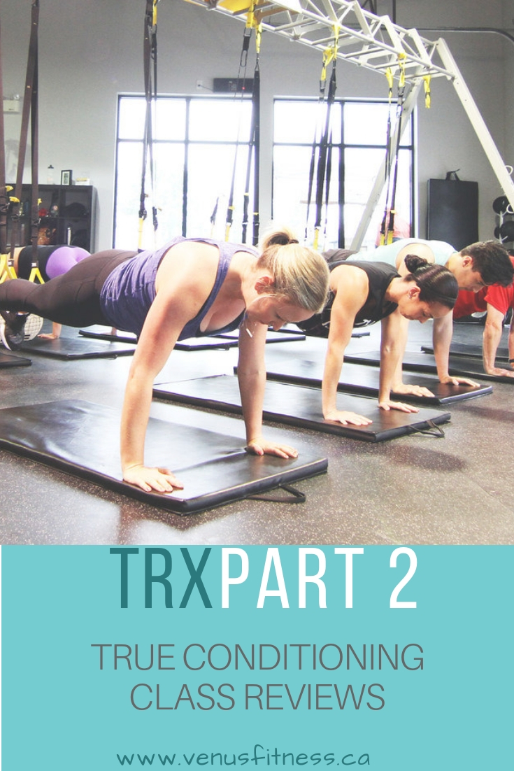 TRX Part 2  True Conditioning- Class Reviews - Venus Fitness and ... bc70f4ad208