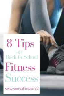 8 Tips for back to school fitness