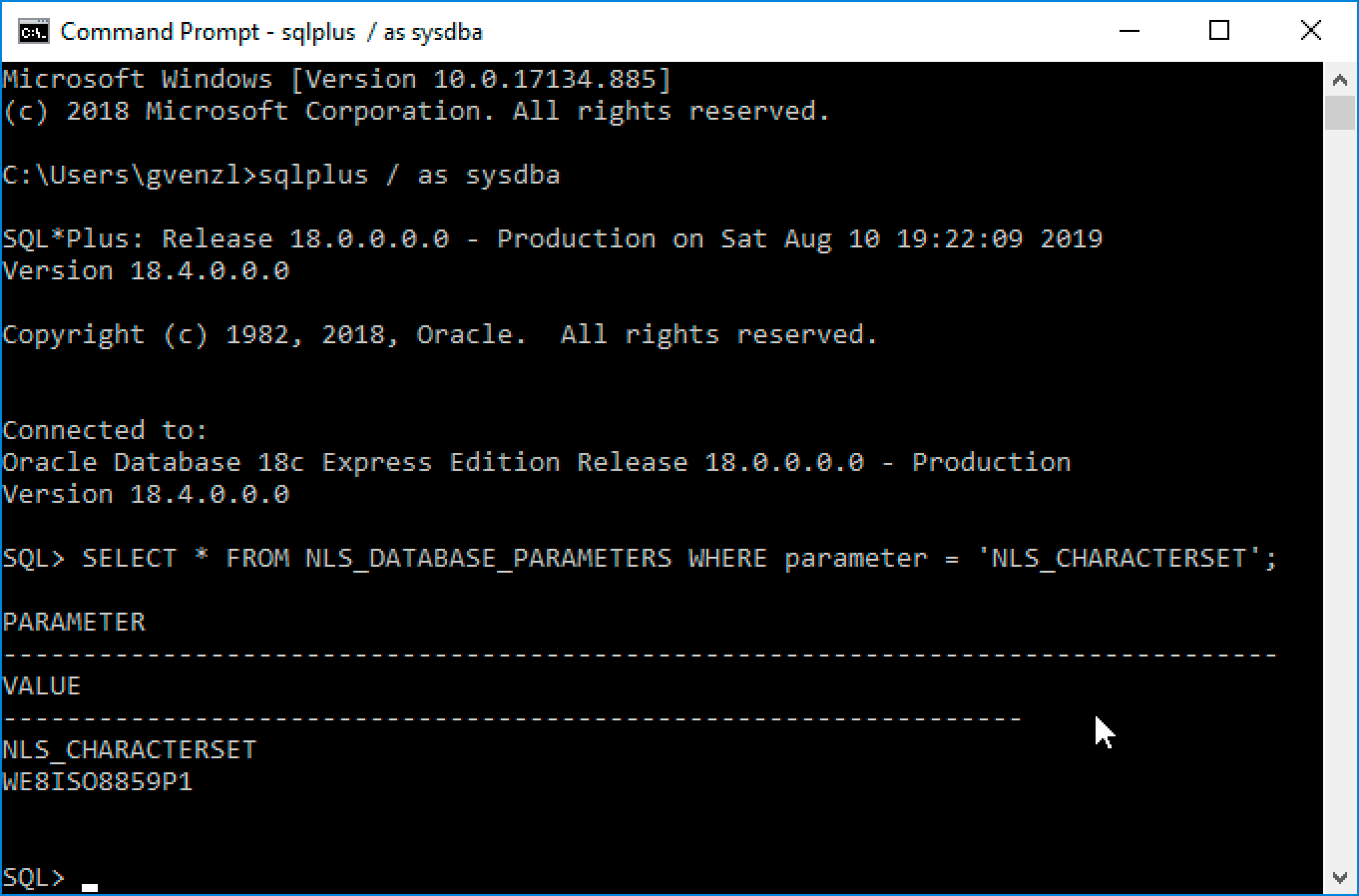 How To Install Oracle Database 18c Xe On Windows Gerald