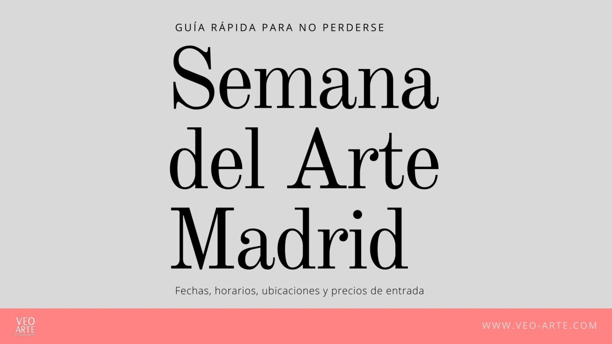 Guía rápida para no perderse en la Semana del Arte en Madrid 2018