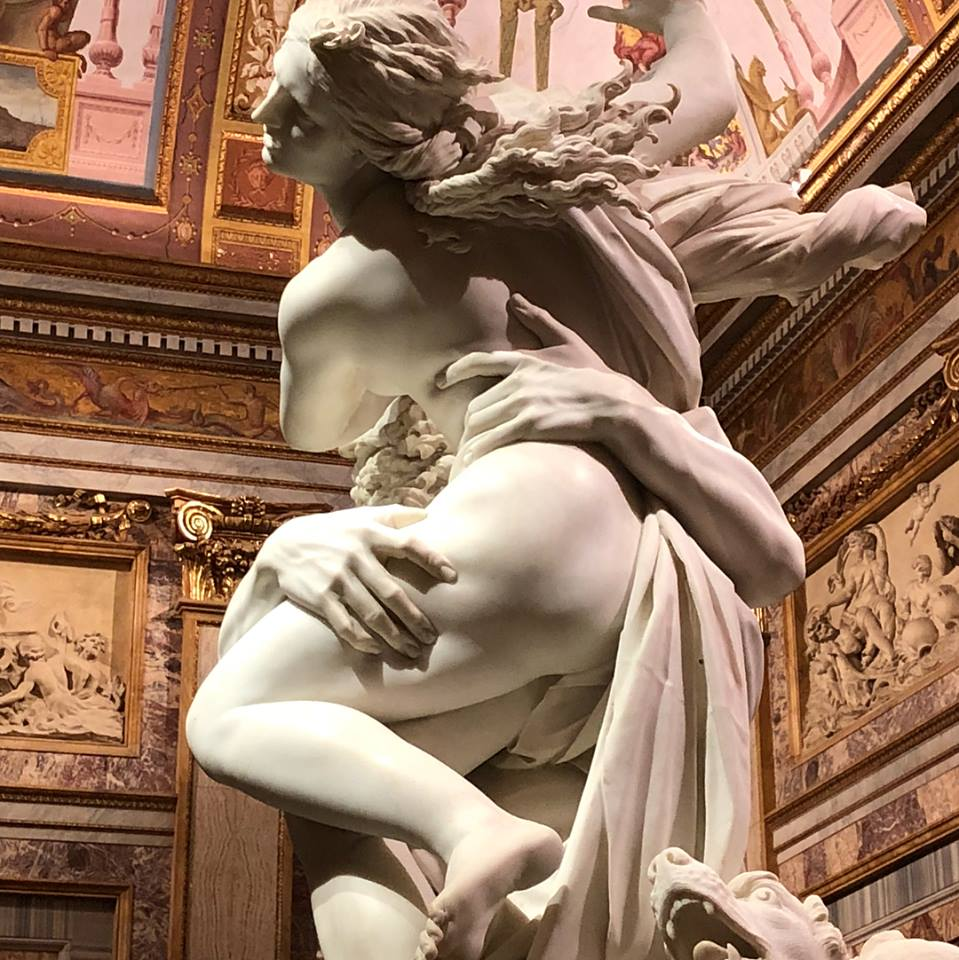 El Rapto de Proserpina por Bernini