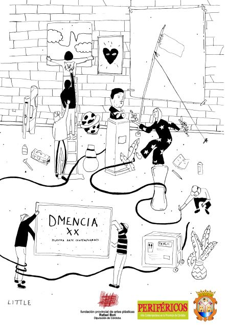 Cartel del certamen DMencia