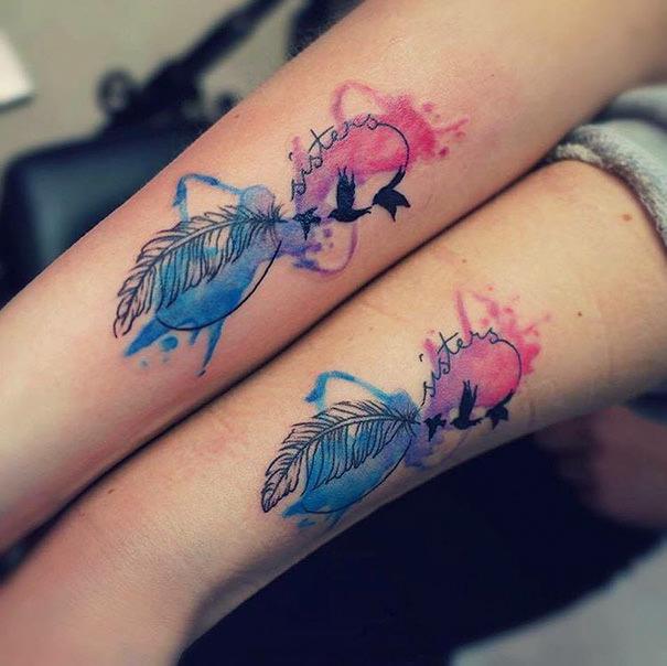 25 Ideas Geniales Con Tatuajes Para Celebrar El Vínculo Entre