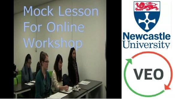 Mock Lesson Video 1