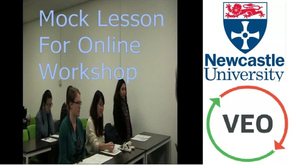 Mock Lesson Video 1