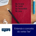 Entenda o conceito do verbo be