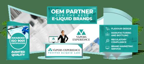 Vapers Experience   OEM E-liquid Labs