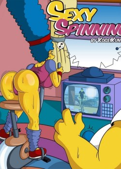Sexy spinning los simpsons