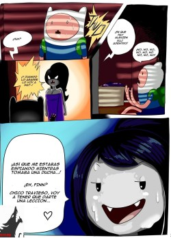 Marceline y Finn – Hora de Aventura