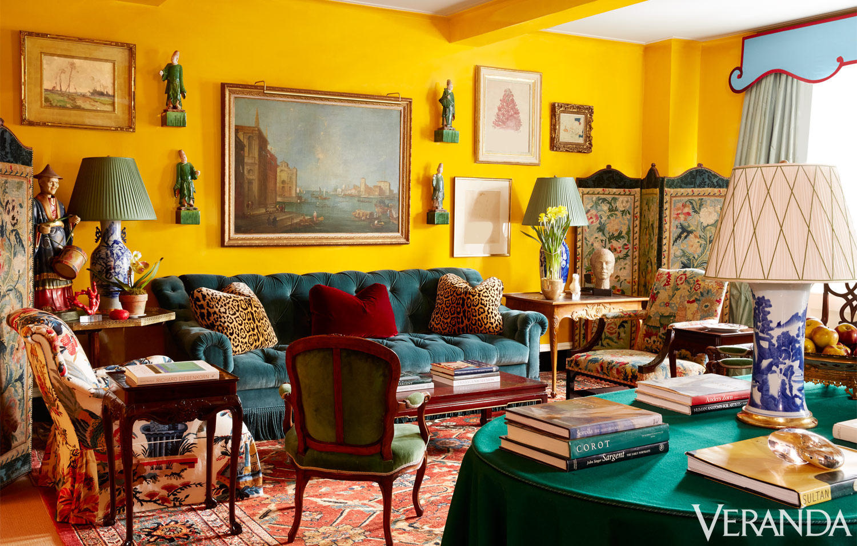Miles Redd Designs A Colorful Manhattan Apartment Tour A