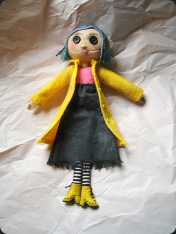 Coraline Doll by SushiLuvZombie