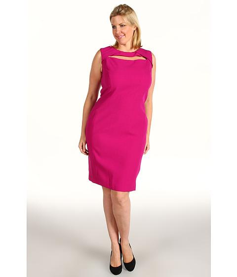 Anne Klein Plus Plus Size Fitted Sheath Dress