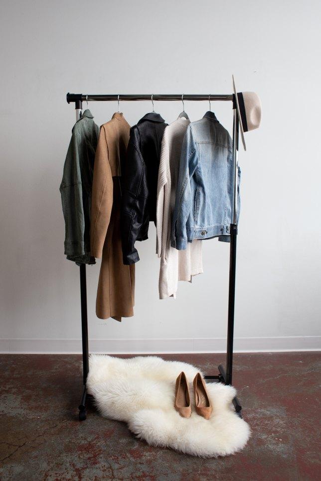 closet decluttering, closet organization, clean closet