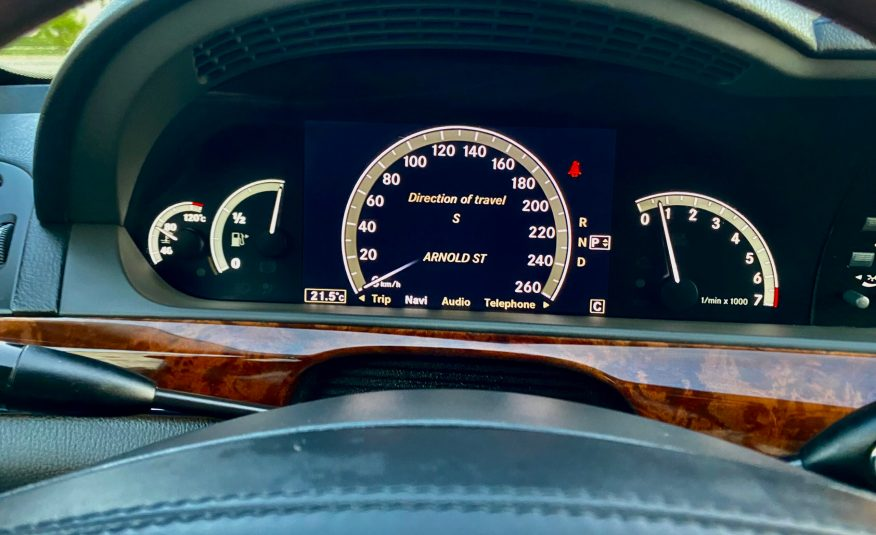 2007 Mercedes-Benz S550 4Matic – NightVision-Panoramic Roof