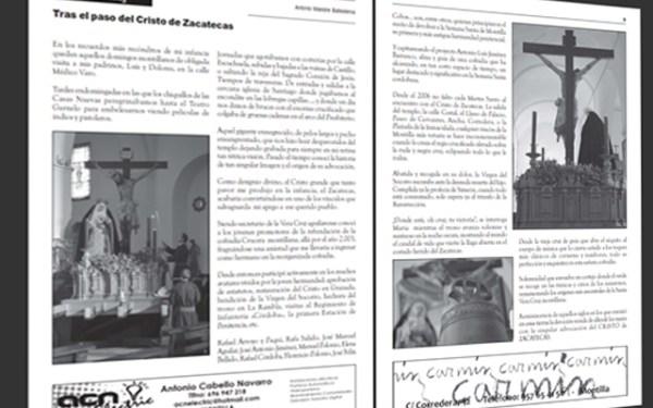 Ya está disponible el número de este año de la Revista Vera Crux