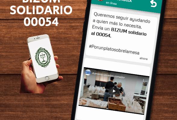 Campaña solidaria a favor del Comedor Social San Juan de Ávila