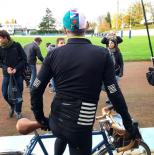 Vera Cycling sur Canal+ avec Antoine de Caunes